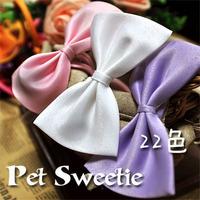 Pet bow tie dog collar necklace flower jewelry accessories, supplies cat collar dog Teddy tie