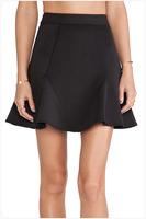 FREE SHIPPING 2014 New Fashion Women Peplum Maxi Skirt NA71070 Sexy Casual Long Skirt With Slit Free Size
