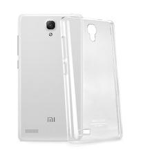 IMAK Plastic Crystal Transparent Phone Case Hard Skin Back Cover Shell Case for Xiaomi Miui Hongmi Note Redmi Note