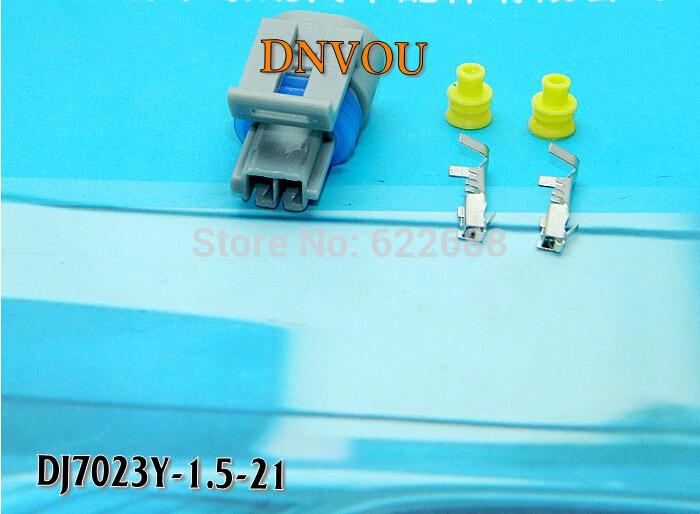 Automotive Connector 2 pin waterproof connector DJ7023Y-1.5-21 automotive sensor plug(China (Mainland))