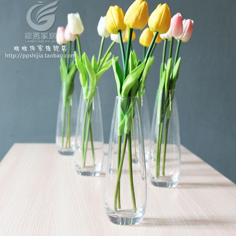 Glass Flower Vase Vase Soft Decoration Glass