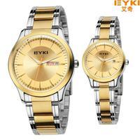 Elegant New style Quartz Watch  genuine men wristwatches lovers watch fashion women watch with calendar auto date