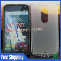 Matte design XT1097 tpu case,For Moto X+1 XT1097 mobile phone cases free shipping