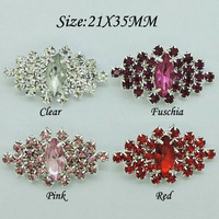 100pcs/Color/lots Large Crystal Embellishment Rhinestone Button Bridal Accessories invitations RMB40