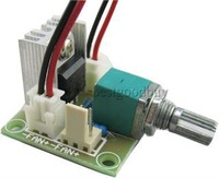 50pcs/lot LM317 Linear Full-stage voltage regulator board Fan Speed Controller with switch