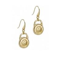 Free shipping! Luxury Brand Gold Metal earrings Kors Letter dangle earrings For Women E-153