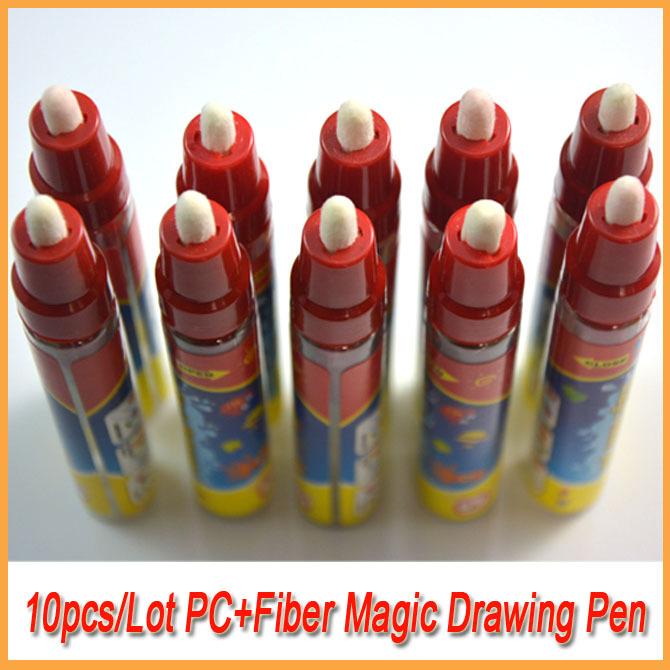 10PCS/Lot Drawing Water Drawing Magic Pen/Aquadoodle Pen Just Add Water(China (Mainland))