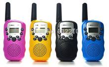 Free shipping BELLSOUTH T388 wireless video 2-Way UHF Auto Multi-Channels Walkie Talkie interphone