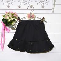 2014 new female Tong Chunqiu skirts personality rivet fishtail skirt girls skirt hot batchLace TUTU Skrits 4pcs/lot Free Shippin