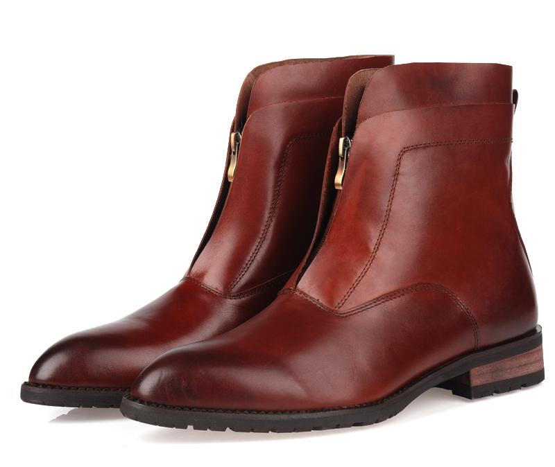 popular mens zipper dress boots buy cheap mens zipper