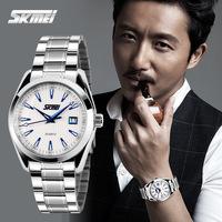 Stainless Steel Watchs Men Luxury Brand Skmei Fahsion Casual Wristwatch New Design Men Causa Watch 2014 Trendy