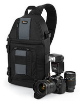 Genuine Lowepro SlingShot 202 AW DSLR Camera Photo Laptop Bag Backpack Rucksack with all + Weather Cover