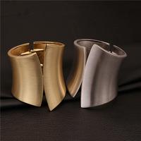 New Fashion Jewelry Brand Luxury Gold Plated Vogue Trendy Big Long Bangle Women Bracelets VFBA136