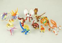 Free Shipping 12pcs/lot Invizimals PVC Action Figure Model Classic Toys for Children SHD-1130