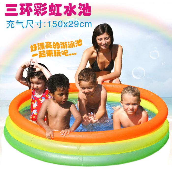 Isenção postageJILONG2014QP017223 piscina inflável infantil brinquedos rodada do arco-íris adulto piscina espessamento(China (Mainland))