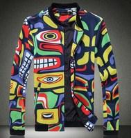 Free shipping autumn 2014 men's clothing Jacket,/coat/autumn /casual/man jacket  4XL 5XL N-5