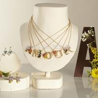 collier alphabet fleurilettrea  les nereides necklace letters