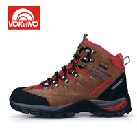 High-end 100% Abrazine Calfskin Men Hiking Boots Waterproof Brethable Athletic Shoes