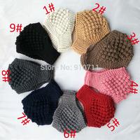 10 pcs/lot Newest Corn Style irregular Women Knitted Headwrap Knitting wool crochet headbands ear warmers for Girls Teens
