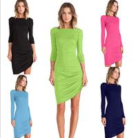 Hot Sale Sexy Dresses New 2014  clubwear Sexy Nightclubs dresses Bodycon Vestidos Slim Bodycon Pencil Dresses