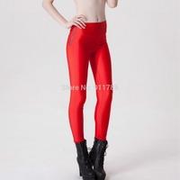 new fashion 2014 Autumn zipper designer fluorescent candy colors sexy Hip sport Leggings women girl Leggings for women,S-XL, yd9