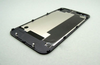 Glass Back Cover Replacement Housing for Apple iPhone 4S, Black and white,wholesale and retail,free shipping