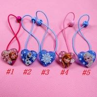 Frozen Heart-shaped Elsa Anna Doll Hair Band 40 pcs Wholesale