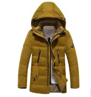 7 Kinds Of Colors,Size M-3XL,2014 Winter New Design ( 90% white duck down ) Men's Down Coat Winter Warm Down Jacket FF056