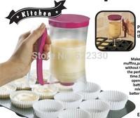 Free Shipping New Baking Essentials Cake Batter Dispenser Tools Dough Cupcake Batter Dispensers Cream Separator