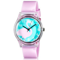 Willis women rhinestone watches resin table scrub fashion table waterproof ladies watch child table jelly watches