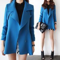 2014 fall autumn winter fashion women wool coat luxury fashion simple big temperament