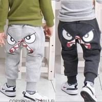 Children's spring / fall trousers, harem pants Children cotton trousers 5pcs/lot