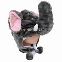 MODA CUBE Plush Animal Elephant Children Kids Adult Party Winter Hat Cap Beanie