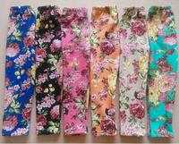aoth78-2 girls winter leggings girls clothes 3-8 age fleece girl legging free shipping 5pcs/ lot