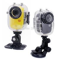 2014 New Full HD 1080p Portable 30M Waterproof Bike/Surfing/Outdoor Sport SJ1000 Car DVR Helmet Action Mini Video Camera