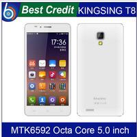 "New Original Elephone G6 MTK6592 Octa Core Smartphone 5"" IPS HD 1280x720 1GB Ram 8GB Android 4.4 13.0MP Camera OTG GPS/Eva"