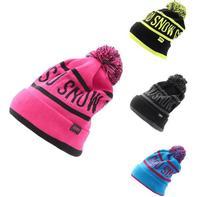 Winter outdoor sports Fashion High quality Women ski cap knitting Set head hat Windproof Ski hat Men keep warm  Free shipping