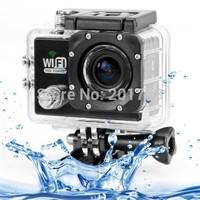 10PCS DHL  2014 NEW Newest Original SJ6000 12MP Full HD 1080P 2.0 Inch LCD Screen WiFi Sport DV Camera