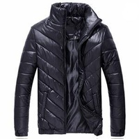 2014 New Arrival Designer Men's Autumn Winter Stand Collar Coat Outwear High Quality personalized Padded Jacket Coat Parkas