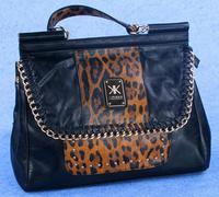 Fashion 2014 High quality  kardashian kollection brand black chain women's handbag shoulder bag big bag KK