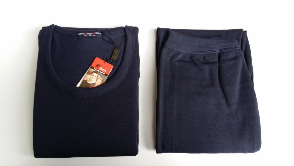 2015 winter and autumn cotton solid long sleeve men's pajamas set cotton long sleeve solid male tracksuit men pajamas suit(China (Mainland))
