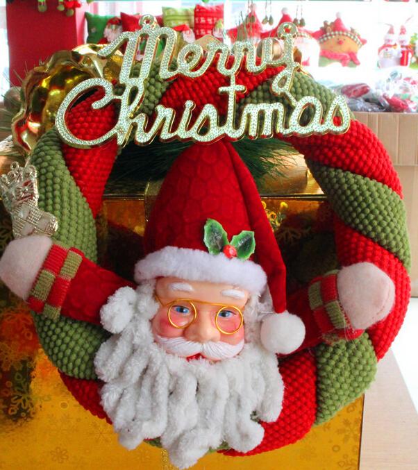 2014 christmas supplies christmas decoration wreaths hang for 2014 christmas decoration
