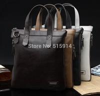 2014 new first layer of leather casual leather satchel bag shoulder bag man bag