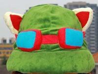 Teemo Hat 1pcs 11.8*8'' 30*20cm LOL Teemo Cosplay Warm Army Green New