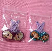 Frozen Hexagonal Elsa Anna Doll Hairpin 40 pcs Wholesale