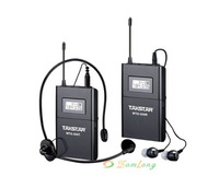Takstar WTG-500 Wireless Assistive Listening UHF780-789MH Tour Guide System 100m Black Color