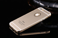 """1PCS 2014 New Arrival Luxury Aluminum Back Cover For iPhone 6 4.7"""" Metal Case High Quality Free Shipping"""