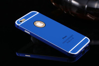 """New 4.7"""" Luxury Ultra Thin Metal Case Aluminum Frame Bumper Cover Case For iPhone 6 With Free Shipping 20PCS"""
