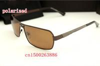 The blue film plating frog mirror 8752 mens's brand designer polarized sunglasses driver mirror