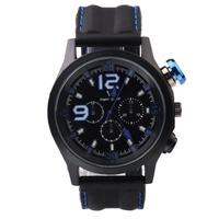 luxury brand V6 Business  Wristwatches Men's sport watch Clock Leather StrapWatches Men Watch  Military Quartz Men's Wristwatch